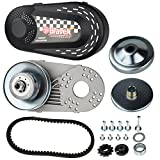 "Bravex Torque Converter Go Kart Clutch Set 3/4"" 10T 40/41 and 12T 35 Chain for Manco Comet TAV2 (30 Series)"