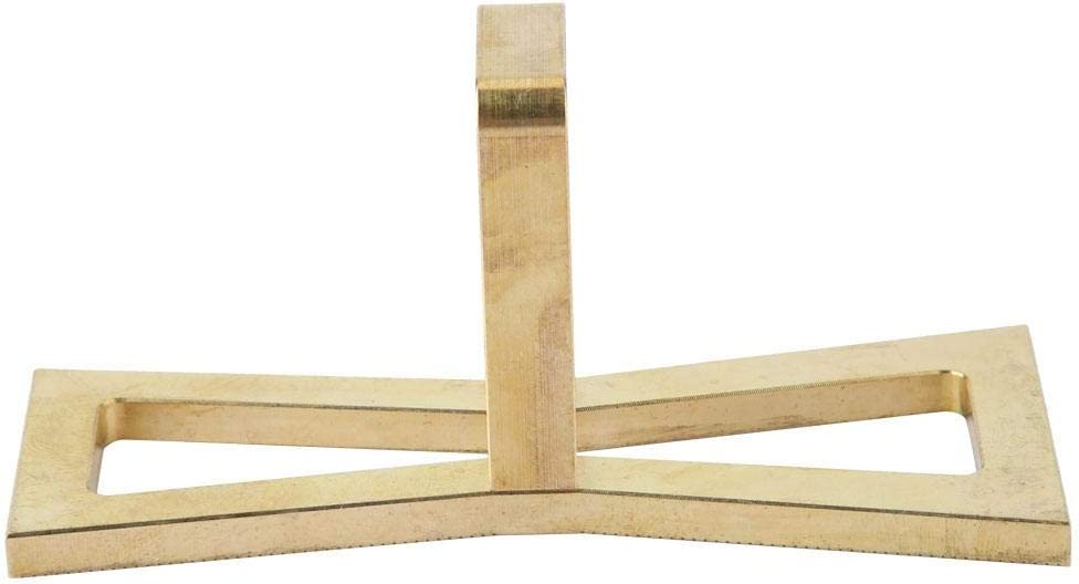 Bricolage pr/écis de la r/ègle de queue daronde du bricolage compact Marqueurs en bois coup/és /à la jauge Outil de guidage en queue daronde pour le trav R/ègle de queue daronde pour le travail du bois