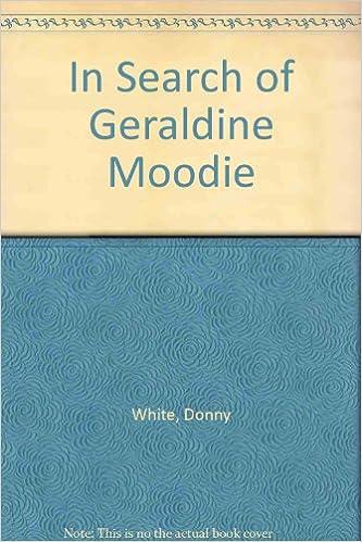 Book In Search of Geraldine Moodie