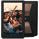 Nixplay-Seed-Wave-133-Smart-Speaker--Photo-Frame-with-Bluetooth-iPhone--Android-App-iOS-Video-Playback-Alexa-I