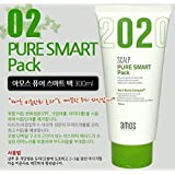 AMOREPACIFIC amos scalp pure smart pack for dandruff scalp, made in Korea, kstyle, anti-dandruff