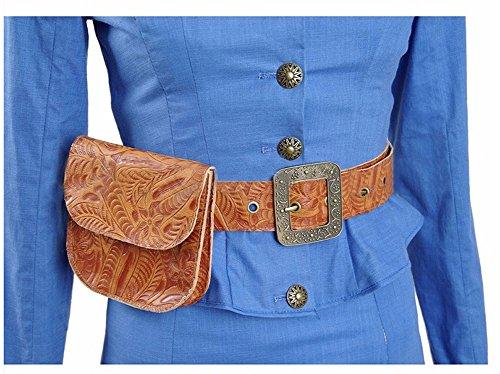 [Xiao Maomi Womens Blue Dress Cosplay Costume Suit Halloween Dress (S, Belt and Bag)] (Bag Lady Halloween Costume)
