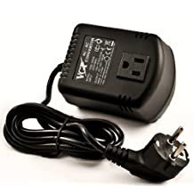 VCT VOD100GS-100-watt Step Down Voltage Converter with Euro Plug For Travel to Europe and Asia 220V/240V