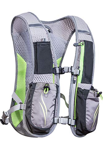 Cheap SMTD Camping Climbing Cycling Marathoner Race Treking Running Hiking Hunting Fishing Backpacks Hydration Packs Gray