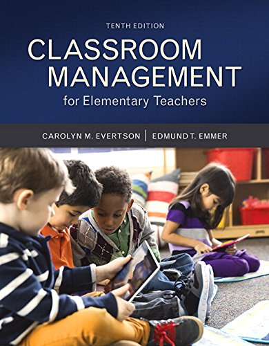 Classroom Management for Elementary Teachers with MyLab Education with Enhanced Pearson eText, Loose-Leaf Version -- Access Card Package (10th Edition) (What's New in Ed Psych / Tests & Measurements)