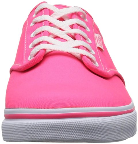 Vans W Atwood Low, Baskets mode femme Rose (Pink/White)