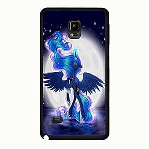 Unique Custom My Little Pony Phone Case,Samsung Galaxy Note 4 Phone Case Cover,Cartoon&Magic Series Hard Plastic Shell Case Cover My Little Pony Stylish
