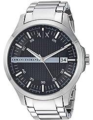 Armani Exchange Mens AX2103  Silver  Watch