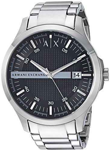 Armani Exchange Men's AX2103  Silver  Watch by A|X Armani Exchange