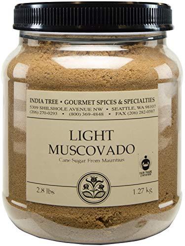 Fudge Lite Chocolate - India Tree Light Muscovado Sugar, 2.8 lb (Pack of 2)