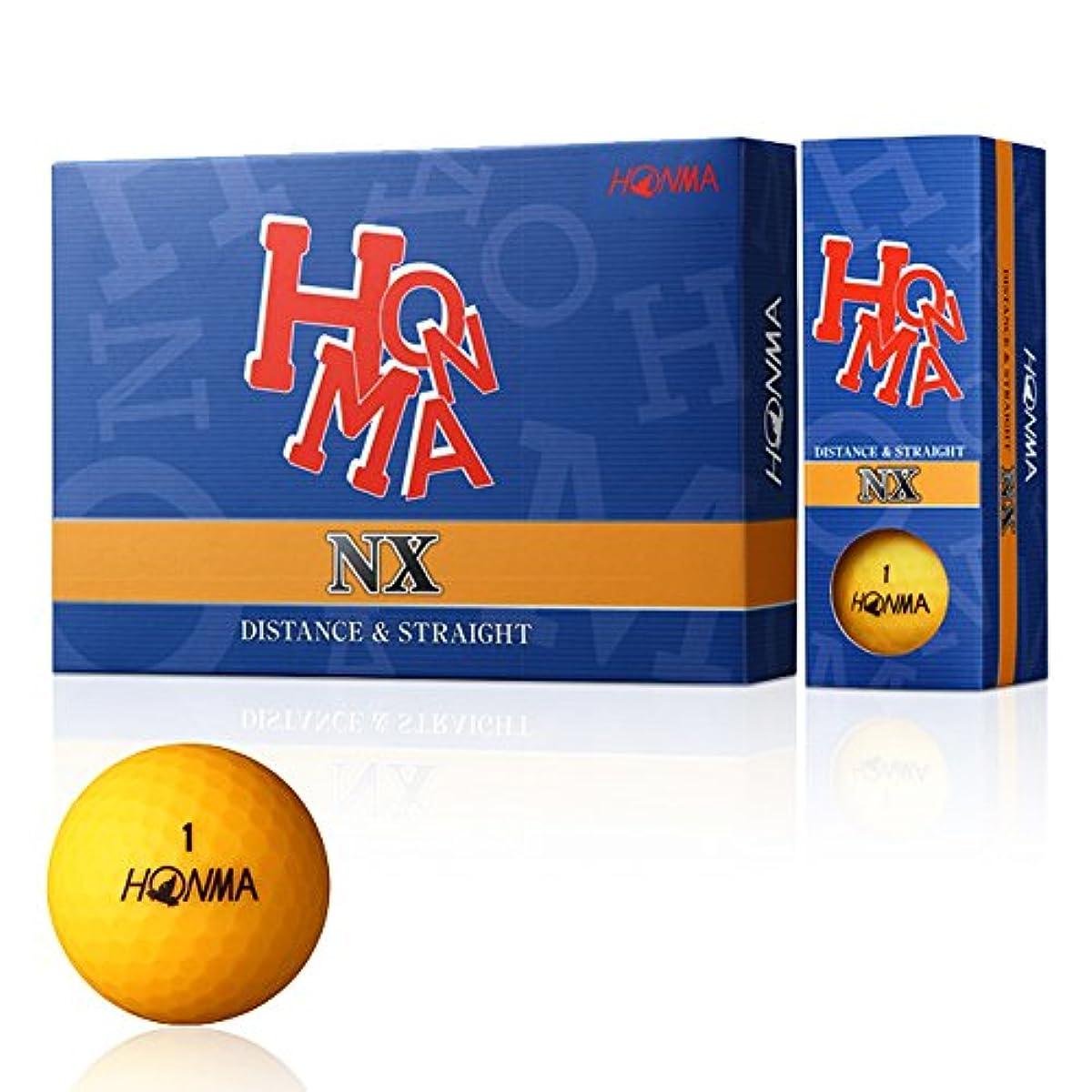[해외] 혼마 골프공 NX 12개입 오렌지