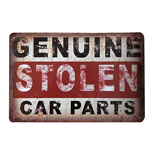 Funny Retro Vintage Tin Sign