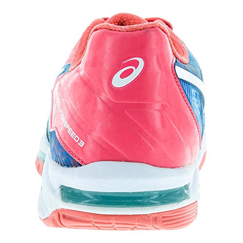 Asics Gel Lösung Speed �? Limited Edition Paris Damen Tennisschuh Diva Blau / Weiß / Diva Pink