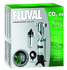 Fluval Pressurized 88g-CO2 Kit