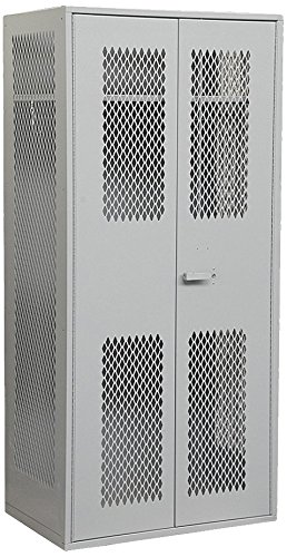 Salsbury Industries Military TA Storage Cabinet, 78-Inch High by 24-Inch Deep, Gray ()