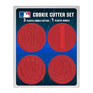 MLB Boston Red Sox Officially Licensed Set of Cookie Cutters