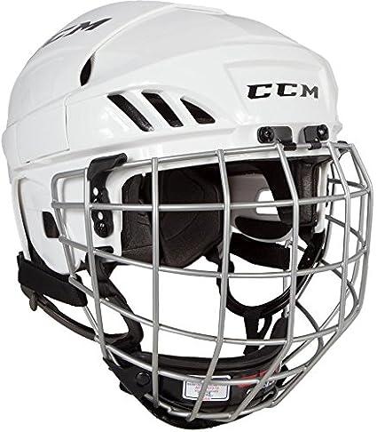 CCM Unisex HTFL40C JR Helmet Combo