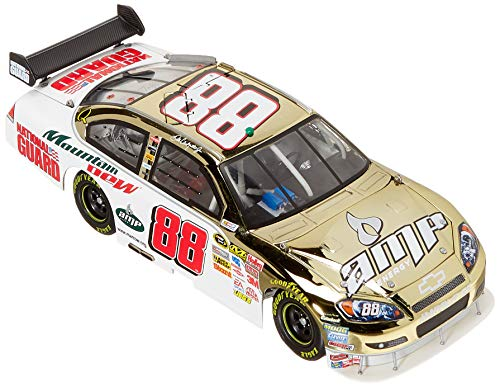 (Only 888 Made Dale Earnhardt Jr #88 Gold Chrome 3 Doors Down Citizen Soldier National Guard