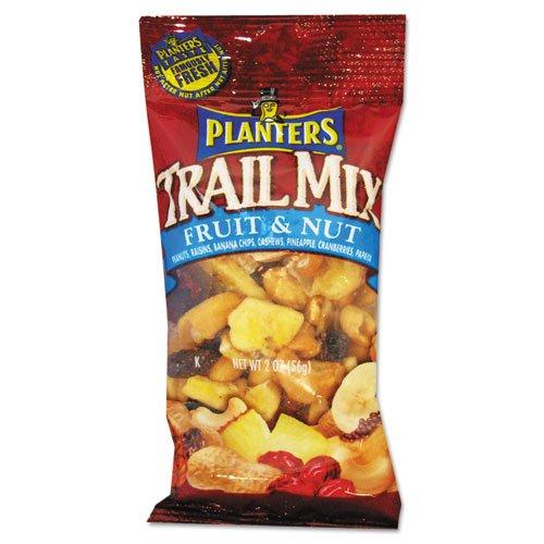Planters Trail Mix Energy Mix (Planters Trail Mix, Fruit & Nut, 2oz Bag, 72/Carton)