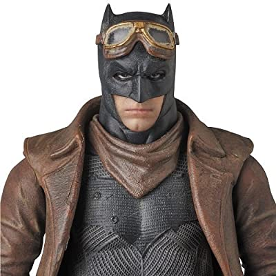Medicom Batman v Superman: Dawn of Justice: Knightmare Batman MAF EX Figure: Toys & Games