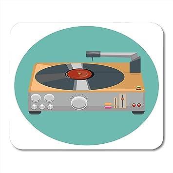 Cubierta Blanco Audio Tocadiscos Reproductor de Vinilo Gramófono ...
