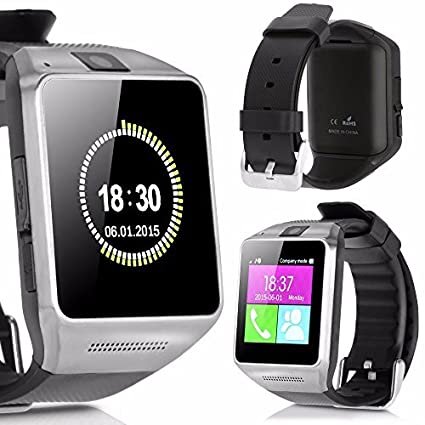Amazon.com: Flylinktech Bluetooth Smartwatch Phone Touch ...