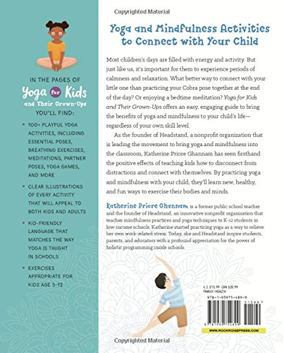 Yoga For Kids And Their Grown Ups 100 Fun Mindfulness Activities To Practice Together Katherine Ghannam 9781939754899 Amazon Books