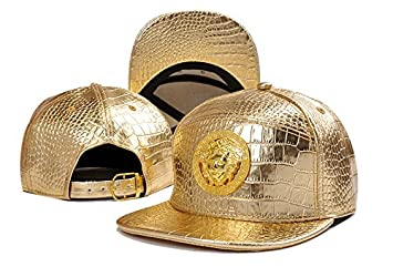 60f7f15dc2f VERSACE Best Quality Franchise Fitted Hat  Amazon.co.uk  Sports ...