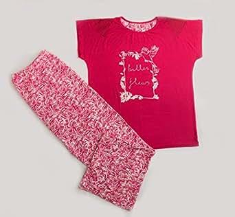 Turkish Pyjamas White & Red