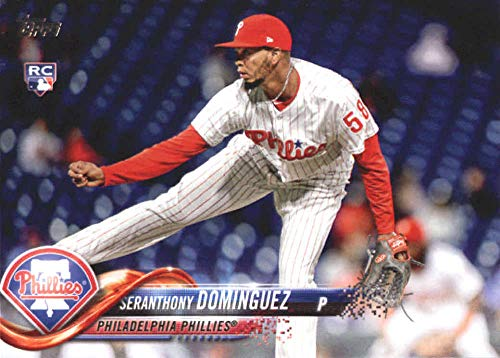 2018 Topps Update and Highlights Baseball Series #US161 Seranthony Dominguez RC Rookie Philadelphia Phillies Official MLB Trading Card