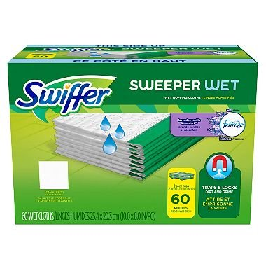 Swiffer Wet Refills, Lavender & Vanilla (60 ct) (pack of 2) by Swiffer (Image #1)
