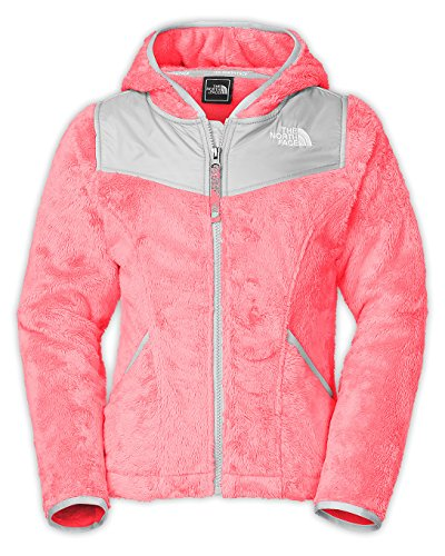 The North Face Oso Hooded Fleece Jacket - Girls' Sugary Pink, XL-18 by North Face