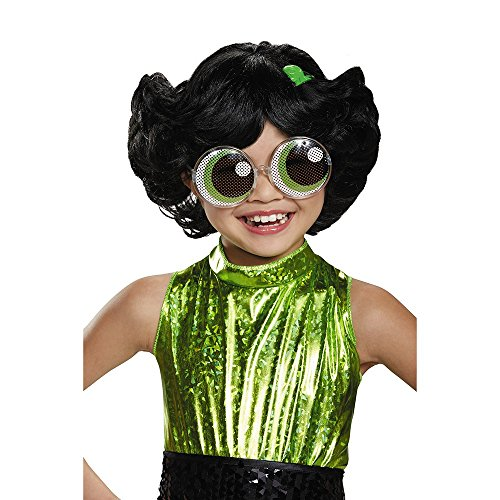 Buttercup Powerpuff Girls Wig, One Size -