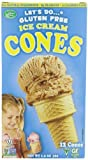 vegan ice cream cones - Let's Do Organic Ice Cream Cones, Gluten Free, 1.2-Ounce Packages (Pack of 4)