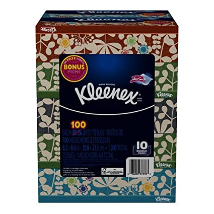 Kleenex Facial Tissue 10 Pack only $8.27