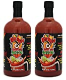 Two Pack Ojo Rojo Bloody Beer Mix Cerveza Michelada Mix 1L (Pack of 2)