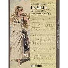 Le Villi: Vocal Score