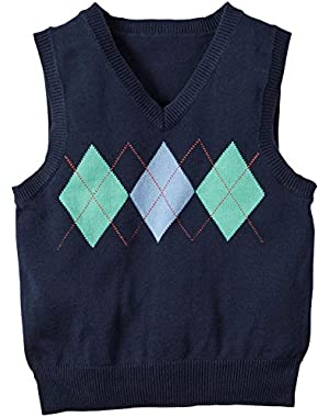 Carter's Sweater Vest, Navy, 6 Months