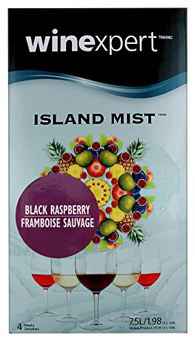 Island Mist Black Raspberry Wine Ingredient Kit