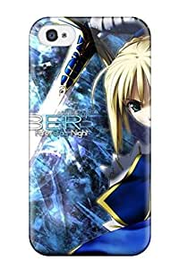 Iphone 6 4.7 Hard Back With Bumper Silicone Gel Tpu Case Cover Fate/stay Night