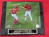 Max Scherzer Nationals NO HITTER 2015 Collector Plaque w/8x10 Photo