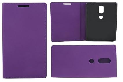 Colorcase Flip Cover Case for Lenovo Phab 2 Plus  6.4     Purple  Cases   Covers