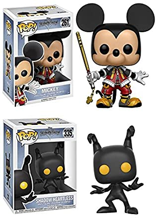 Kingdom Hearts: Mickey + Shadow Heartless – Disney Video Game Vinyl Figure