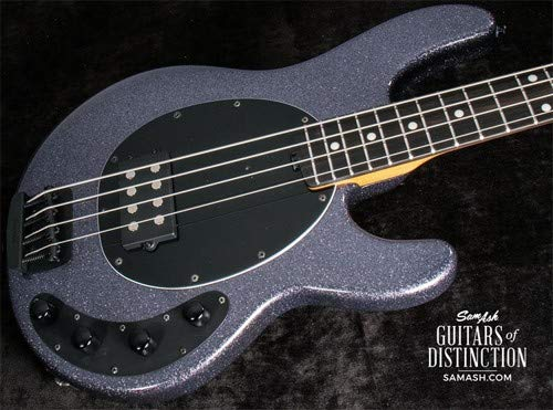 Ernie Ball Music Man StingRay Special Electric Bass Guitar Charcoal Sparkle (SN:F78883)