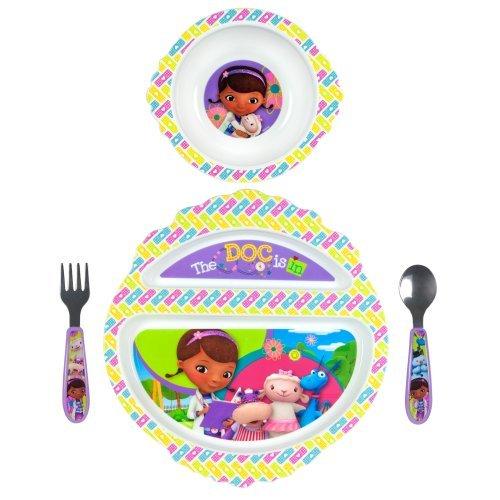The First Years Disney Feeding Set, Doc Mc Stuffins, 4 Piece Color: Doc McStuffins NewBorn, Kid, Child, Childern, Infant, Baby