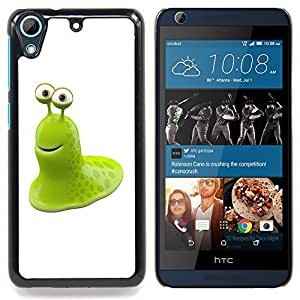 Jordan Colourful Shop - Funny Green Toad For HTC Desire 626 & 626s - < Personalizado negro cubierta de la caja de pl??stico > -