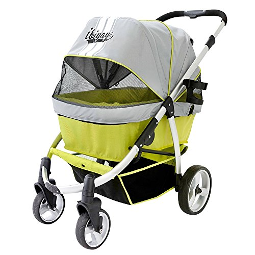 Double Stroller Aluminum 4 wheel suspension