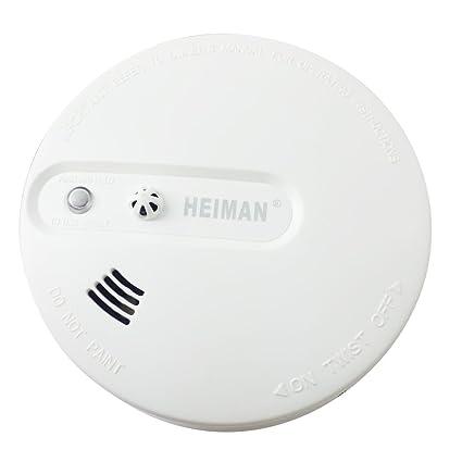 Sensor Dual independiente® heiman combinar humo y Detector de calor alarma de incendio Detector de