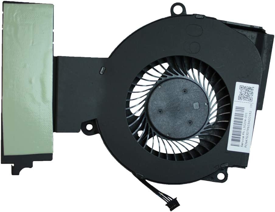 HP Omen 15-DC0010CA HP Omen 15-dc0010ng HP Omen 15-dc0010nf HP Omen 15-dc0010nb Power4Laptops Replacement Laptop CPU Fan for HP Omen 15-dc0009ur