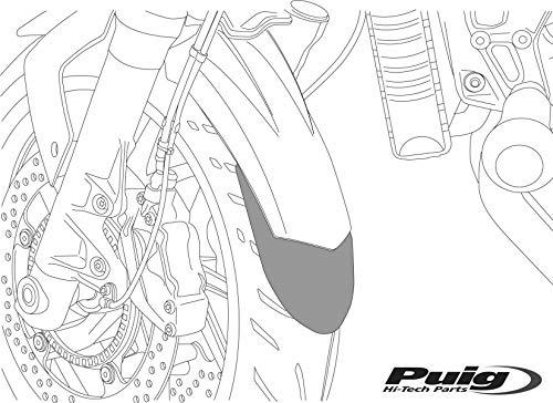 Puig 6822N Kotflü gelverlä ngerung BMW R1200GS 2013- schwarz